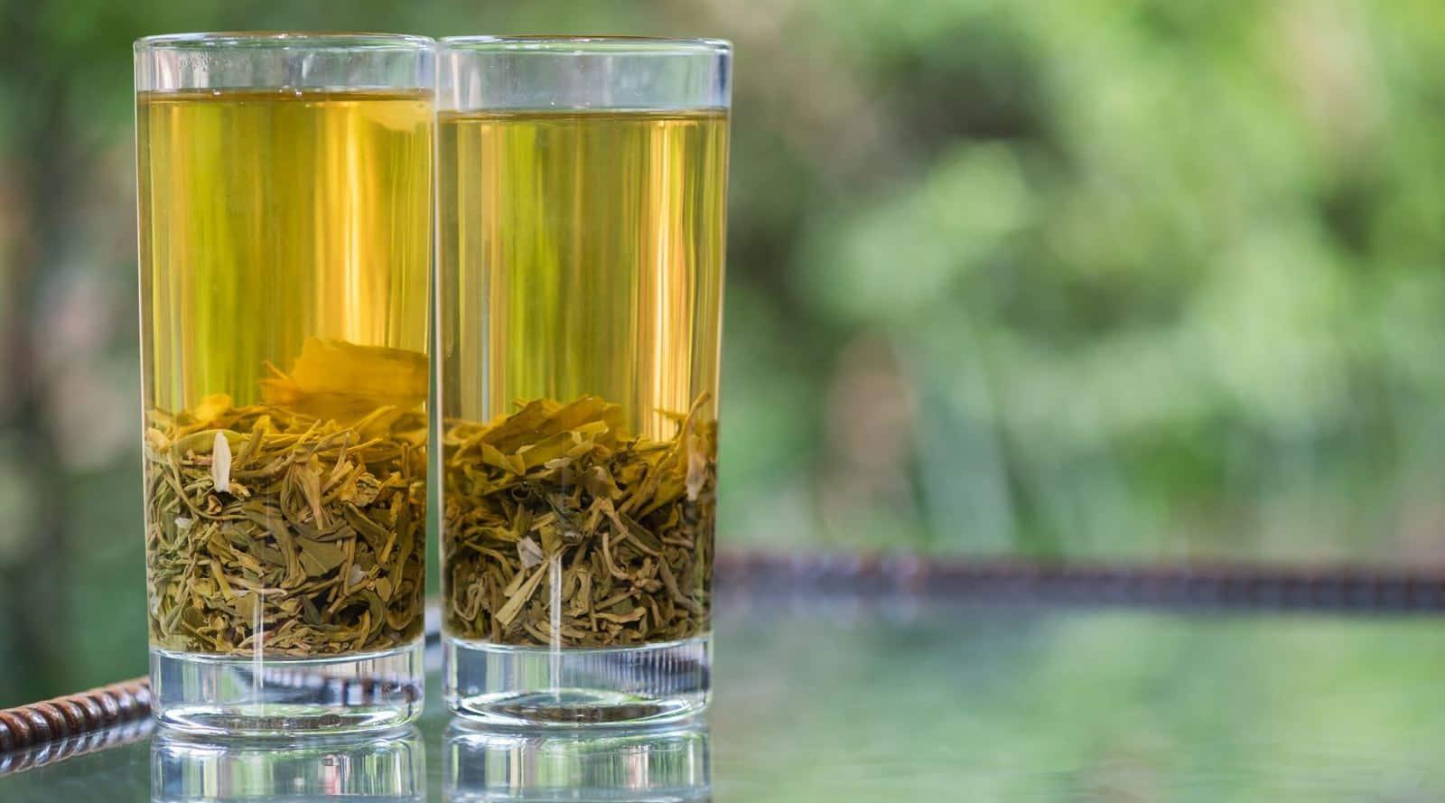 is cold green tea as effective as hot green tea?