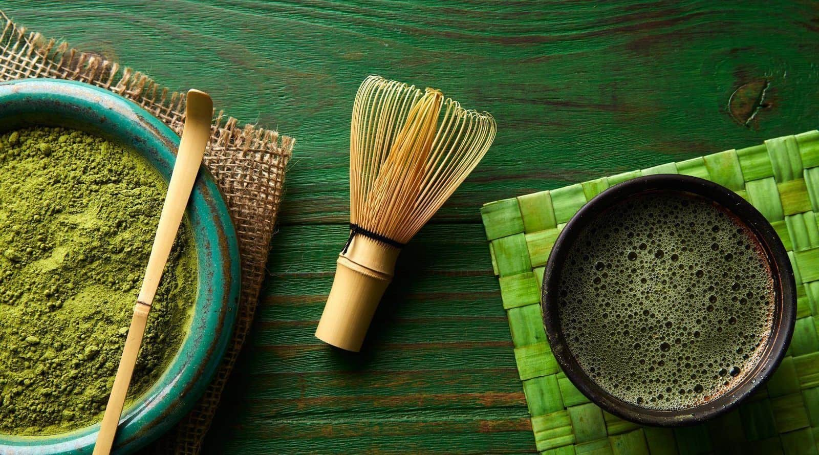 good matcha is all in the whisk!