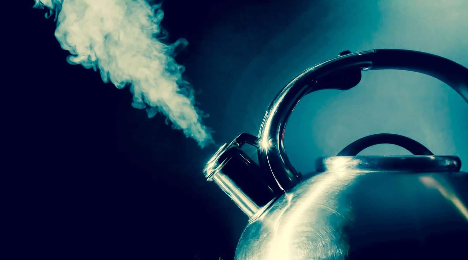 why do teapots whistle? why does a boiling kettle make noise?